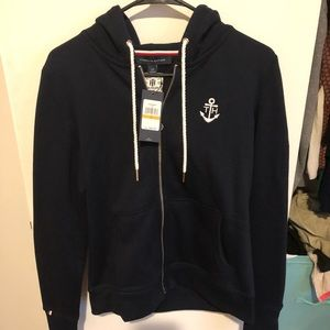 Tommy Hilfiger's french terry hoodie